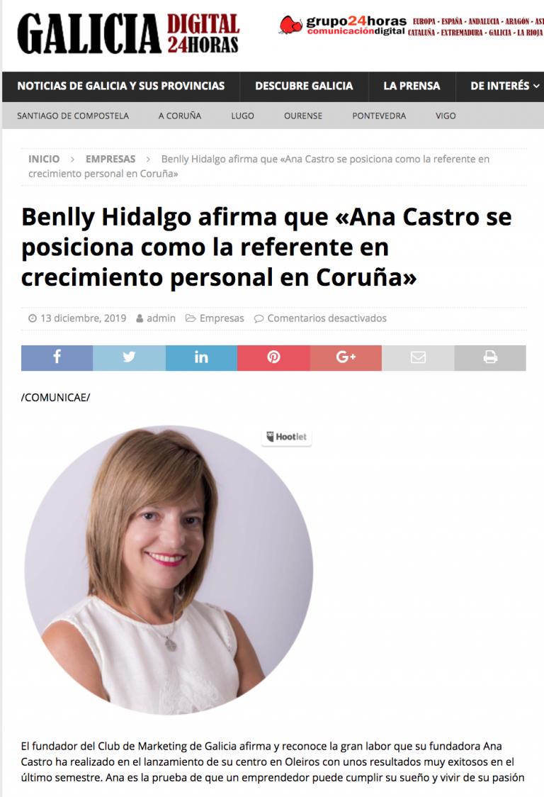 Ana Castro de Pachamama en prensa